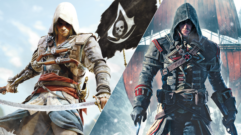 عرض الإطلاق للعبة Assassin's Creed: The Rebel Collection