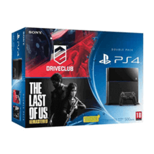 PS4 + Driveclub + The Last of Us Remastered