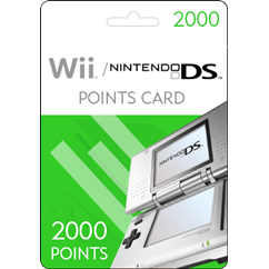 Nintendo DS 2000 Points
