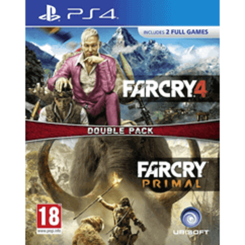 Far Cry Primal and Far Cry 4 (PS4)