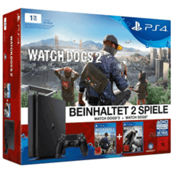 Sony PlayStation 4 1TB Watch Dogs 2 Bundle
