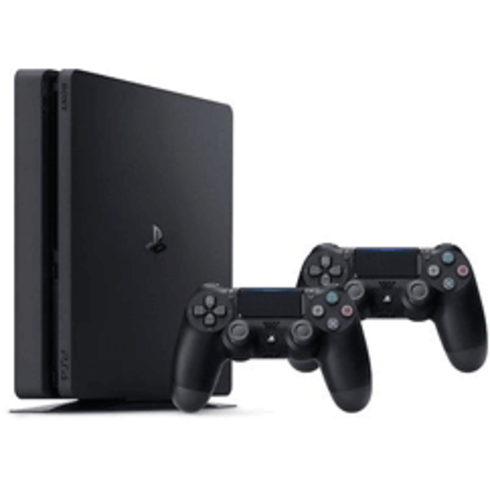 PlayStation 4 Slim 500 GB With 2 Controller