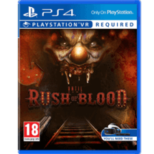 Until Dawn Rush of Blood VR PlayStation PS4