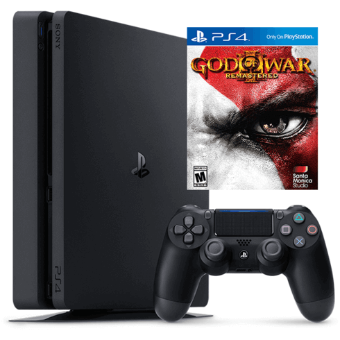 PlayStation 4 500G + Bundle God of War III