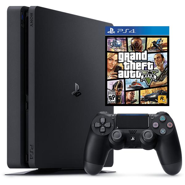 PlayStation 4 500G - GTA V PS4 Bundle
