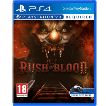 Until Dawn: Rush of Blood - PS4 - Used