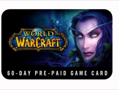 World of Warcraft Time Card  Blizzard EU 30 Days