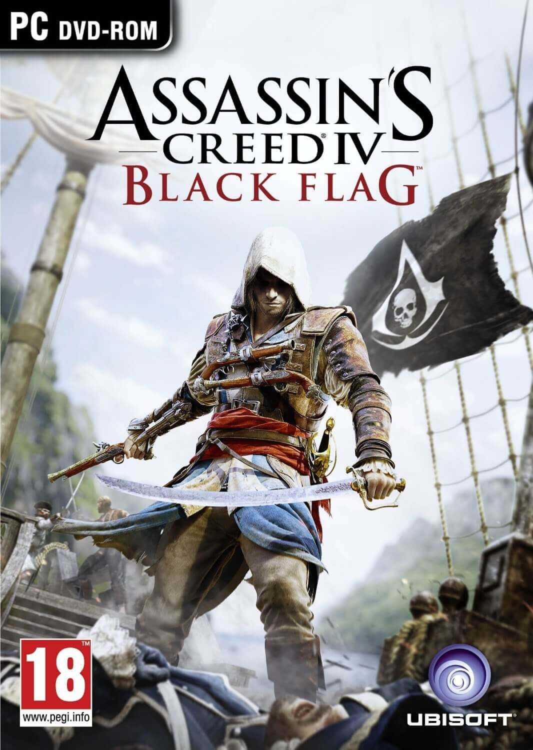 Assassin's Creed Black Flag Game + Season pass PC Code