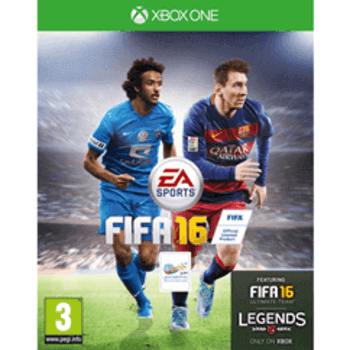 FIFA 16 XBOX ONE  ( Arabic Commentary ) Used