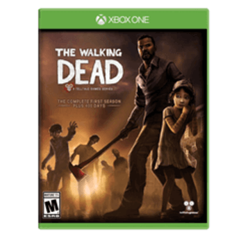 The Walking Dead Complete First Season Xbox Used