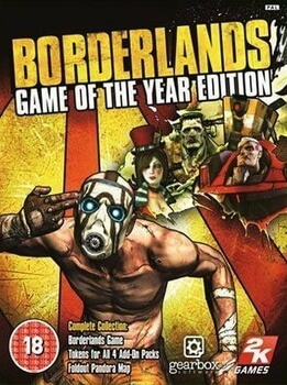 Borderlands Game of the year PC Steam Code