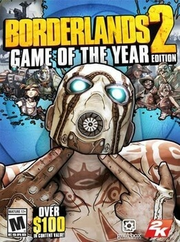 Borderlands 2 Game Of The Year PC Steam Code