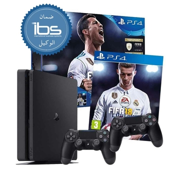 PS4 1 TB FIFA 18 + 2 Controller with warranty