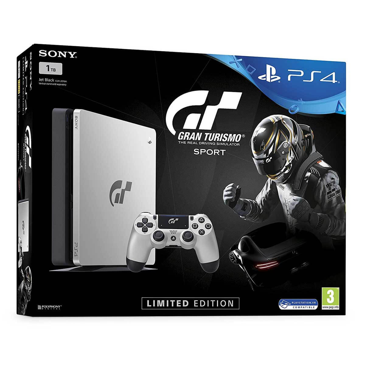 PS4 1TB Gran Turismo Sport Limited edition