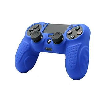 Blue Silicone Cover Protector Case - PS4