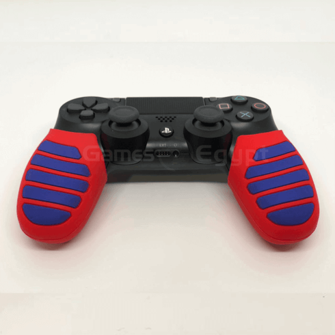 Silicon hand cover for PS4 controller (Blue/Red)