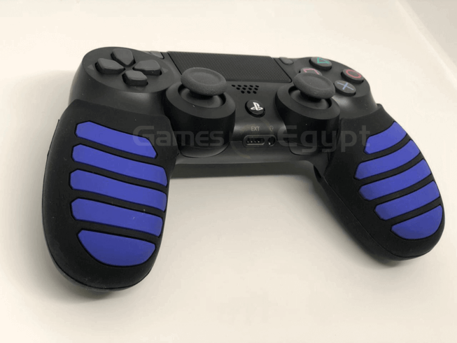 Silicon hand cover for PS4 controller (Blue/Black)