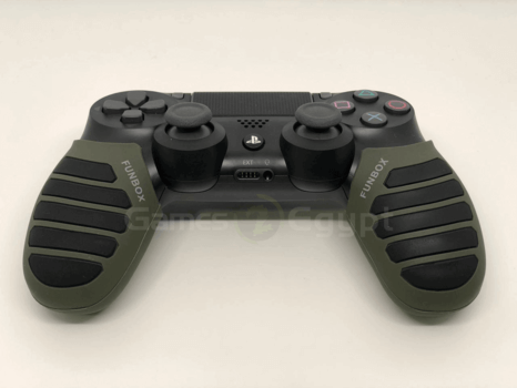 Silicon hand cover for PS4 controller (Olive/Black)