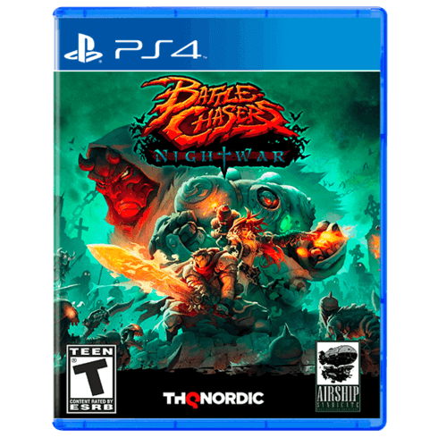 Battle Chasers Nightwar - PS4