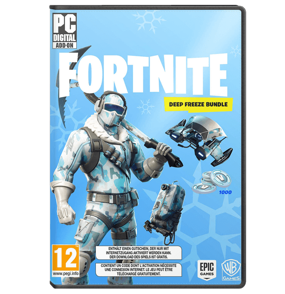 Fortnite Deep Freeze bundle - PC Epic Games