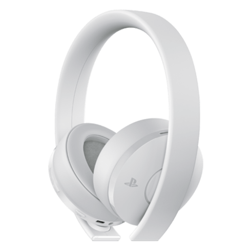 Wireless Gold Headset (White) - PS4 with warranty