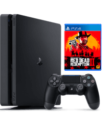 PlayStation 4 500GB Red Dead Redemption 2 Bundle with warranty