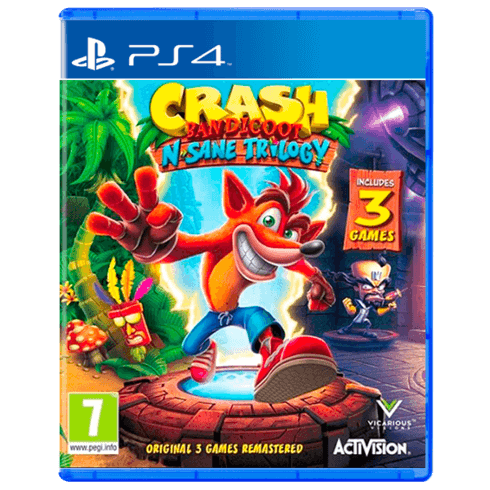 Crash Bandicoot N. Sane Trilogy Playstation 4 - PS4