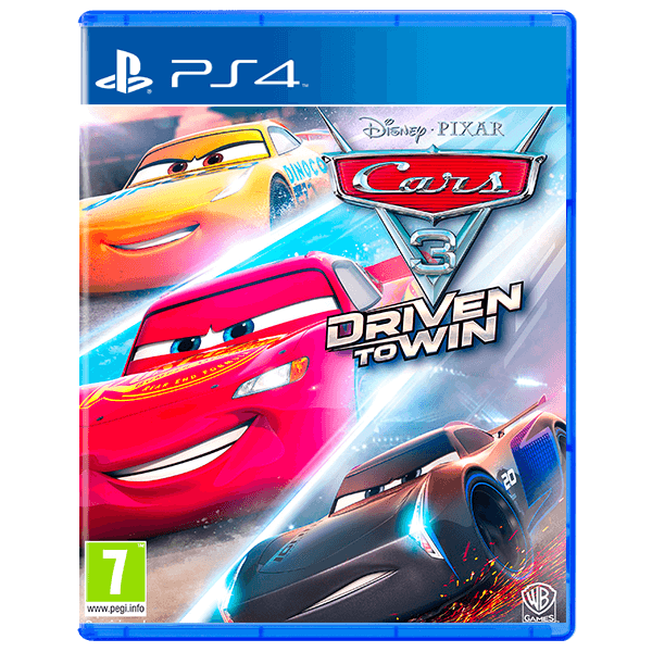 Cars 3: Driven to Win PS4 - PlayStation 4