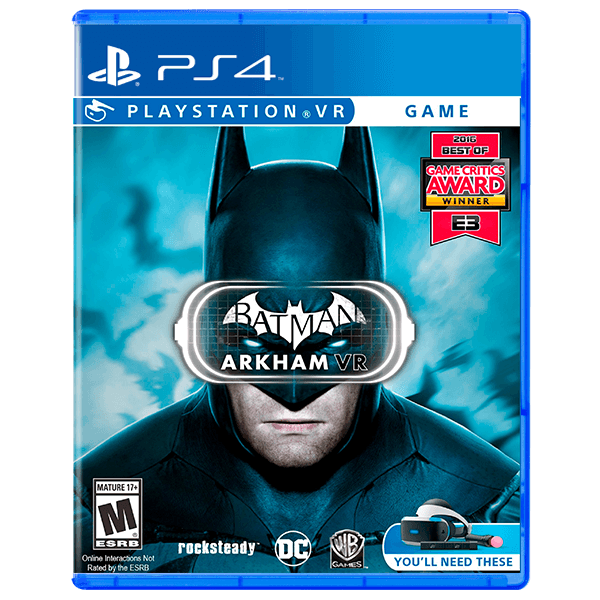 Batman: Arkham VR - PS4