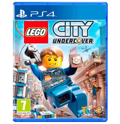 LEGO City Undercover PS4 - PlayStation 4