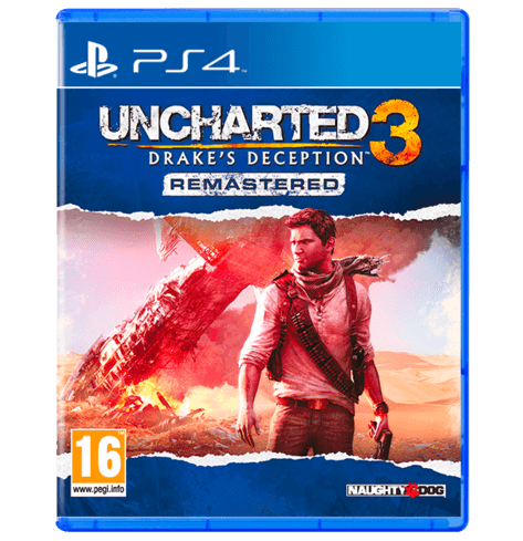 Uncharted 3 Drake's Deception Remastered PS4