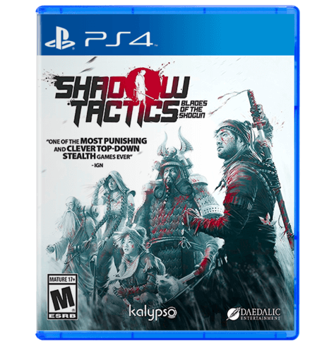 Shadow Tactics: Blades of the Shogun - Used - PS4