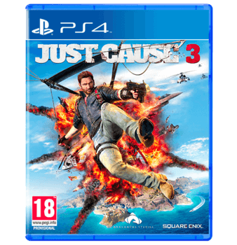 Just Cause 3 Arabic Edition PS4 Used