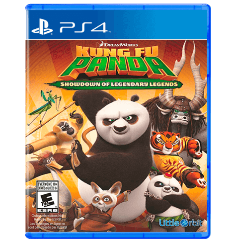 kung fu panda - showdown of legendary - PS4
