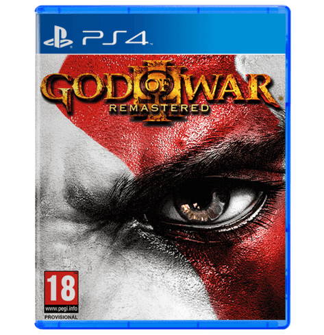 God of War 3 Remastered PS4 bundle copy