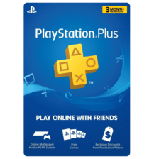 Playstation Plus Membership 3 Month US physical