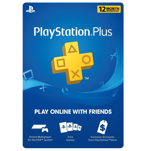 Playstation Plus 12 Months US physical