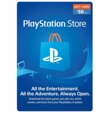PSN $50 Card USA (physical)