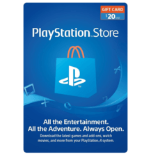 PSN $20 Card USA (physical)