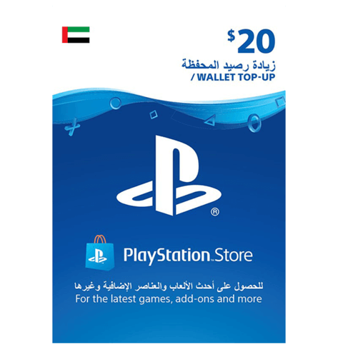 PSN $20 Card UAE (physical)