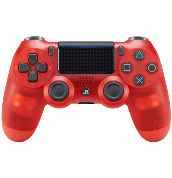 Red Crystal PlayStation 4 Controller - PS4