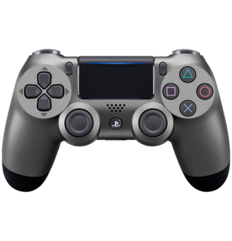DualShock 4 Steel Black PS4 Controller