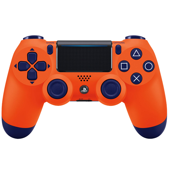 PS4 Orange Controller - with warranty