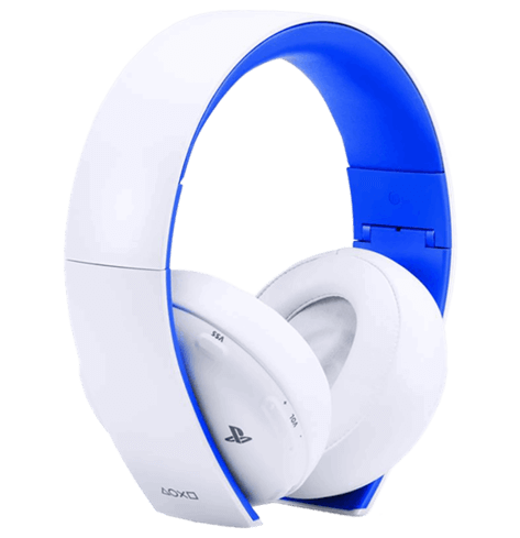 Wireless Gold Headset (White) - PS4
