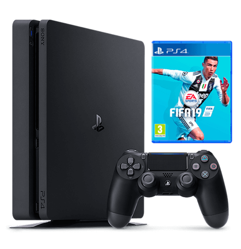 PlayStation 4 1TB FIFA 19 Bundle