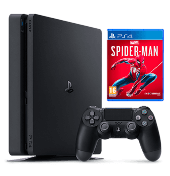 PlayStation 4 1TB Spiderman Bundle With Warranty