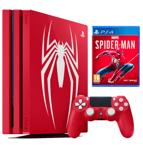 PS4 Pro Spider-Man Limited Edition with warranty