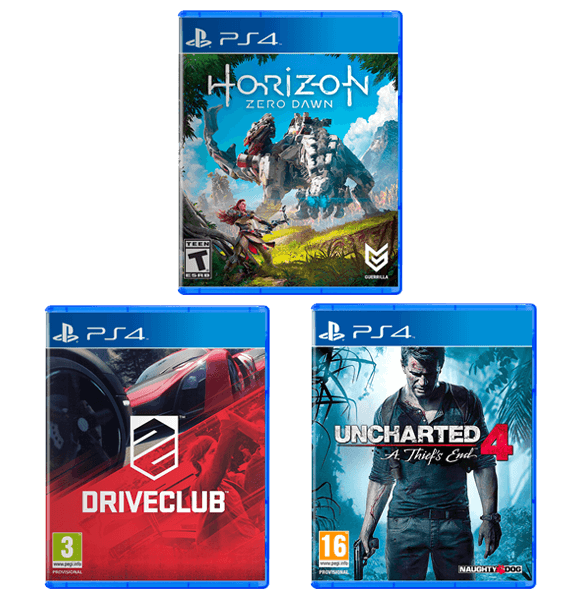 3 In 1 Gamers Bundle PS4
