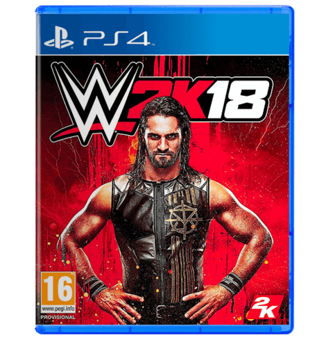WWE 2K18 Standard Edition - Used - PS4