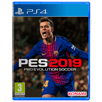 PES 2019 PlayStation 4 - Arabic Edition used